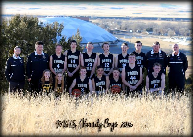 Round Valley Varsity Team Photo