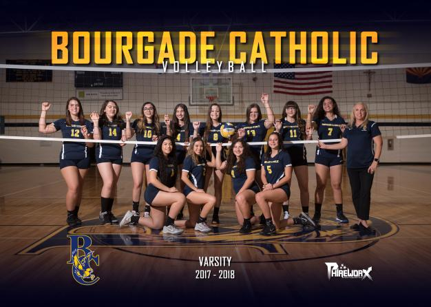Bourgade Catholic Varsity Team Photo