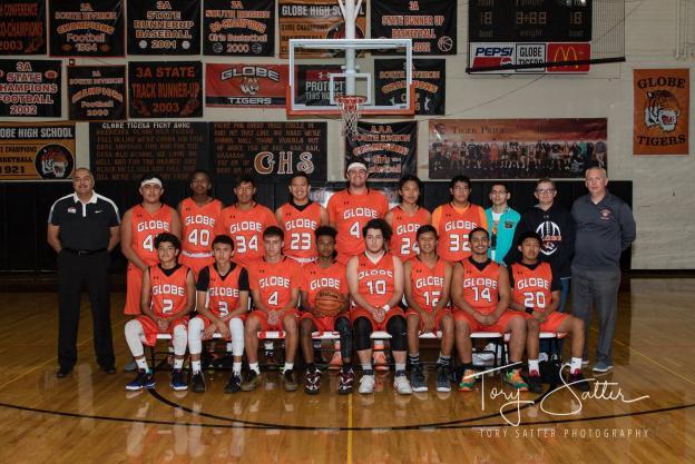 Globe Varsity Team Photo