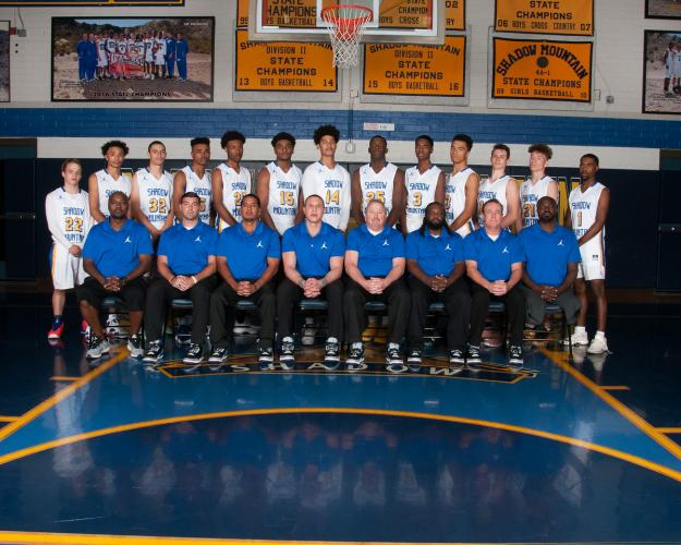 Shadow Mountain Varsity Team Photo