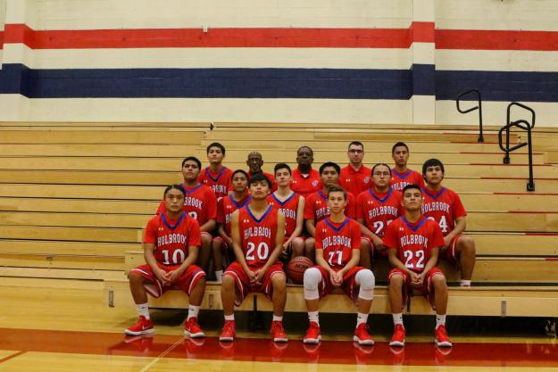 Holbrook Varsity Team Photo