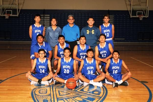 Hopi Varsity Team Photo