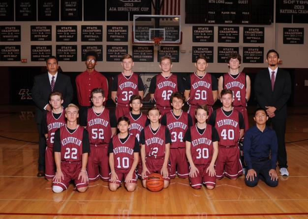 Red Mountain Freshman Team Photo