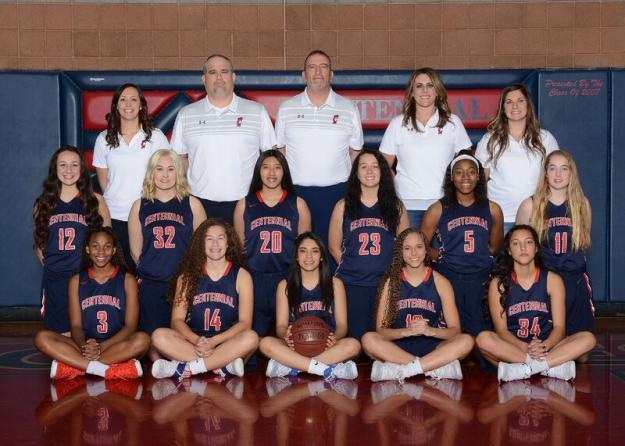 Centennial Varsity Team Photo