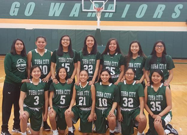 Tuba City Varsity Team Photo