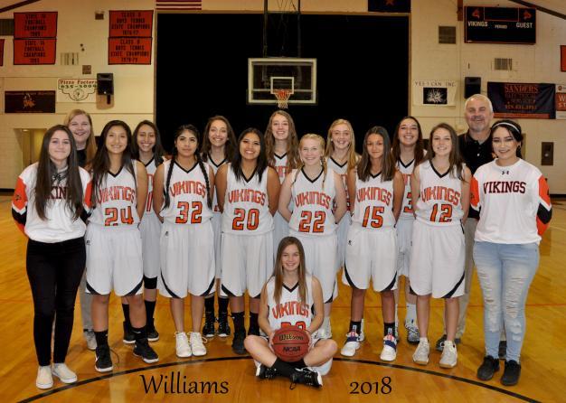 Williams Varsity Team Photo