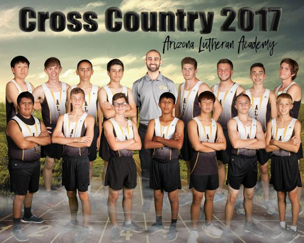 Arizona Lutheran Varsity Team Photo
