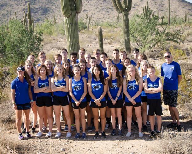 Paradise Honors Varsity Team Photo