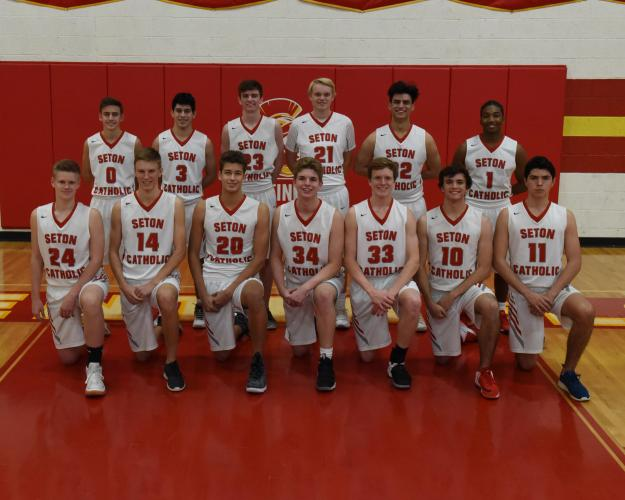 Seton Catholic Prep Varsity Team Photo