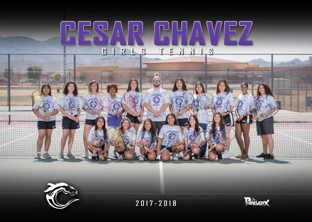 Cesar Chavez Varsity Team Photo