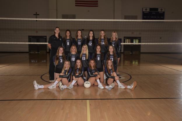 Notre Dame Prep Varsity Team Photo