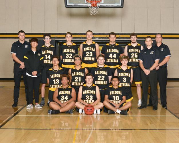 Arizona Lutheran Varsity Team Photo