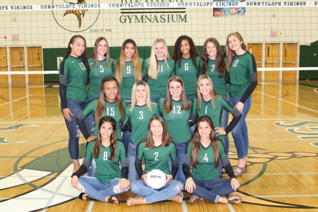 Sunnyslope Varsity Team Photo