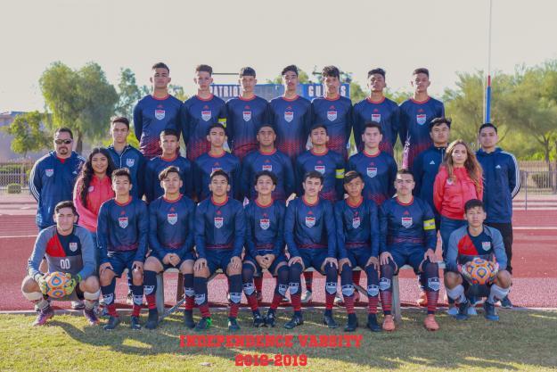 Independence Varsity Team Photo