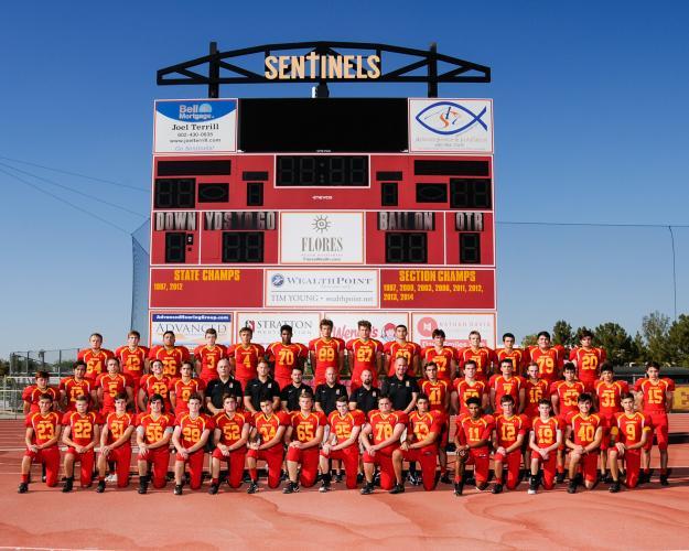 Seton Catholic Prep Varsity Team Photo