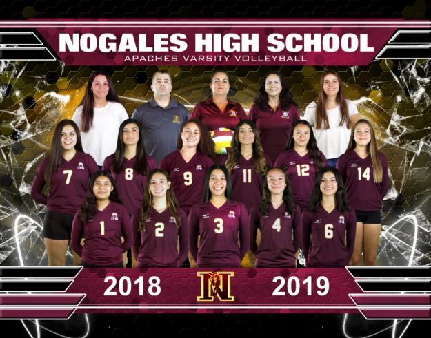 Nogales Varsity Team Photo