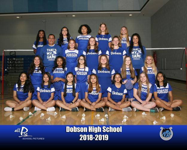 Dobson Varsity Team Photo
