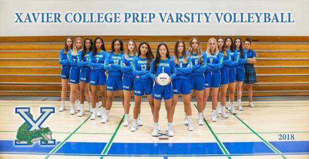 Xavier Prep Varsity Team Photo