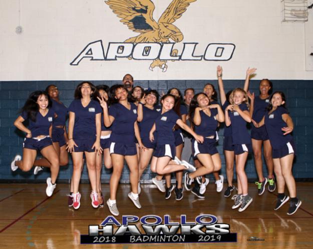 Apollo Varsity Team Photo