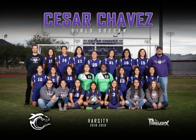 Cesar Chavez Varsity Team Photo