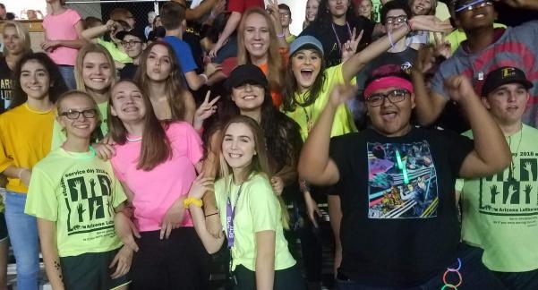 Arizona Lutheran Academy School Spirit Skyrockets Azpreps365