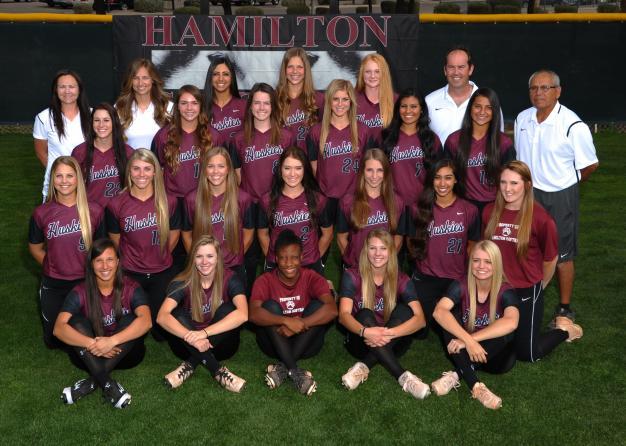 Hamilton Varsity Team Photo