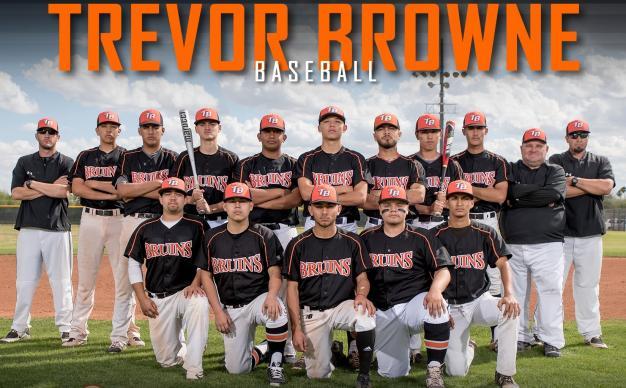 Trevor G. Browne Varsity Team Photo
